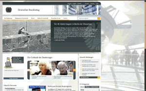 Relaunch bundestag.de
