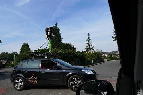 Das Google-Streetview Auto