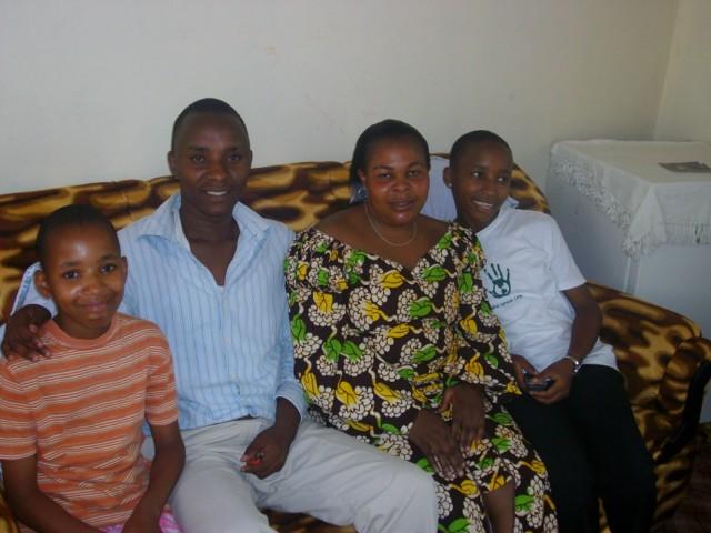 Familie Tarimo aus Tansania