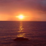 Sonnenuntergang Mbamba Bay