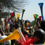 Vuvuzela-Lärm aus Audioaufnahmen filtern