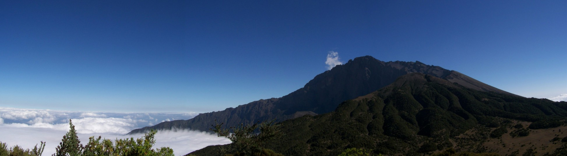 Der Gipfel-panorama