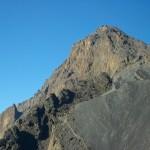 Der Gipfel des Meru