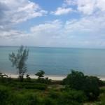 Blick auf den Indischen Ozean