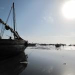 Schiffe im Indischen Ozean