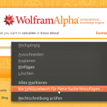 Keyword-Suche in Browsern