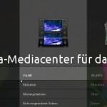 Mediacenter für das Wetab: Moovida