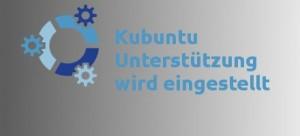 Kubuntu wird herabgestuft