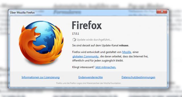 Firefox Update automatisch installieren