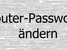 router-passwort