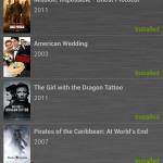 Liste der vorinstallierten Filme