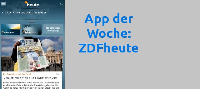 Zdfheute App Kostenlos