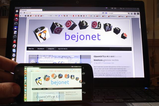 Vollzugriff auf den PC über das Smartphone über bVNC