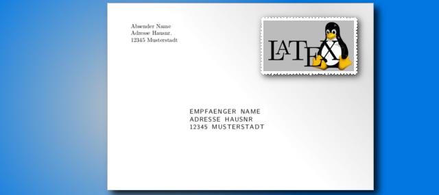 Din Norm Adresse Umschlag Briefumschlag Beschriften Absender Und