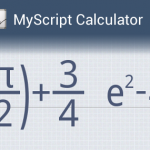 App der Woche: MyScript Calculator