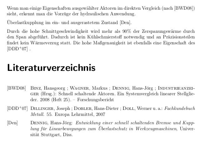 dissertation literaturverzeichnis latex