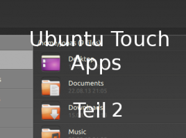 Ubuntu Touch Apps – Teil 2