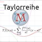 wxMaxima: Taylorreihen