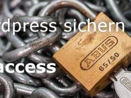 htaccess mit FTP hochladen